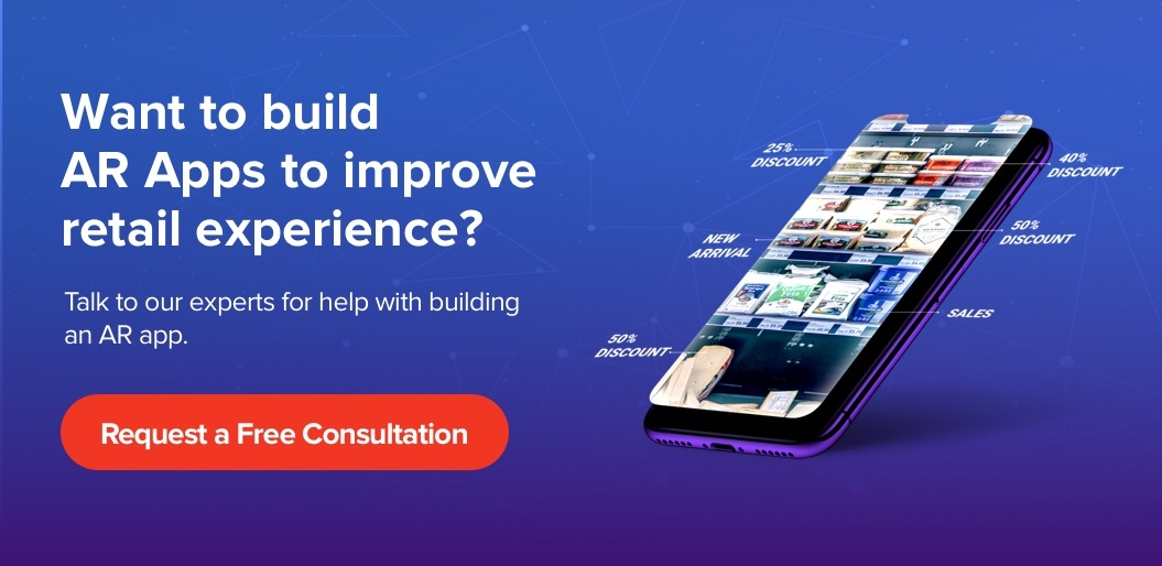 Contact Net Solutions to build AR apps