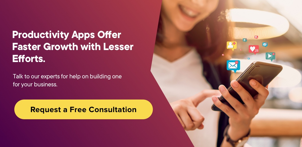 Contact Net Solutions to build a Productivity App