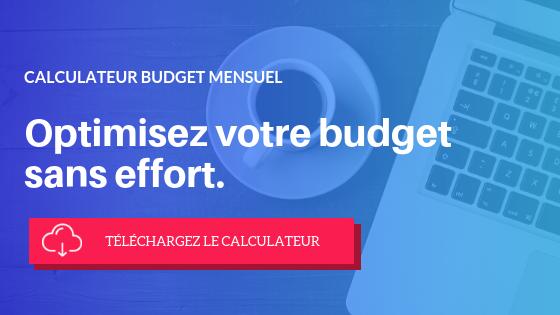 Gérez votre budget sans effort. Téléchargez votre calculateur de budget mensuel
