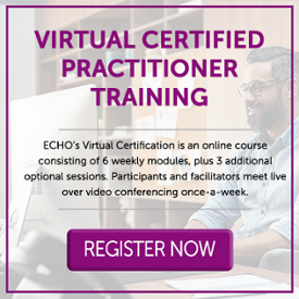 Register for an ECHO virtual certified practitioner training.
