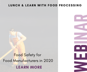 November 21 Food Safety Webinar