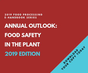 Food Safety in the Plant 2019