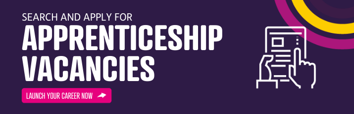 Search and apply for apprenticeship vacancies in under 30 seconds
