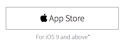 App Store Sign Up Button