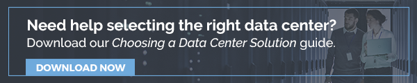 Four Criteria to Consider Before Choosing a Data Center Solution.