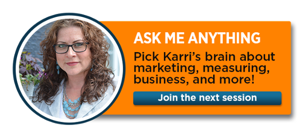 Join Karri's live Ask Me Anything session