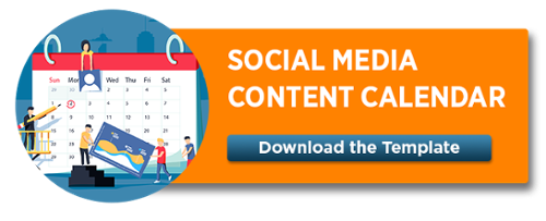 Social Media Content Calendar Template - Download