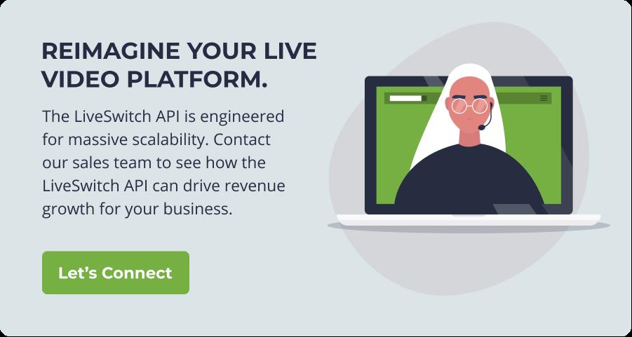 Reimagine your live video platform