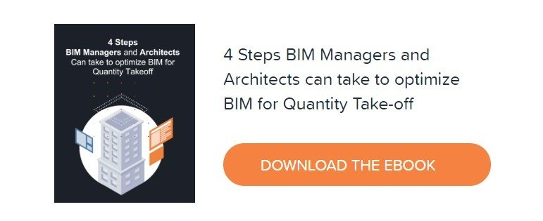 Download Kreo's eBook - 4 Steps BIM Managers and Architects can take to optimize BIM for Quantity Take-off