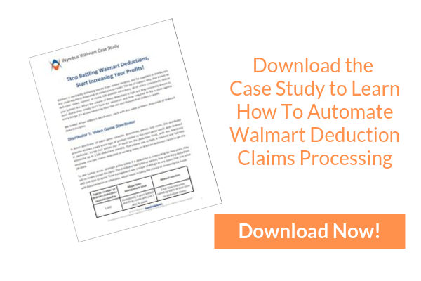Automate Walmart Deduction Claims Processing
