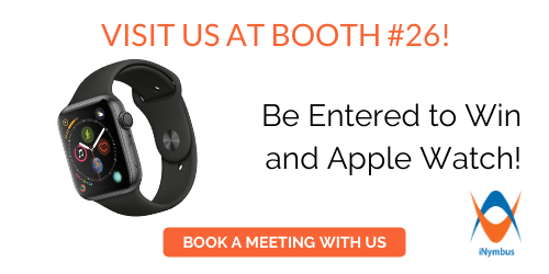 Meet with iNymbus at RVCF Booth #26 and  Be entered for a chance to win an Apple iWatch!