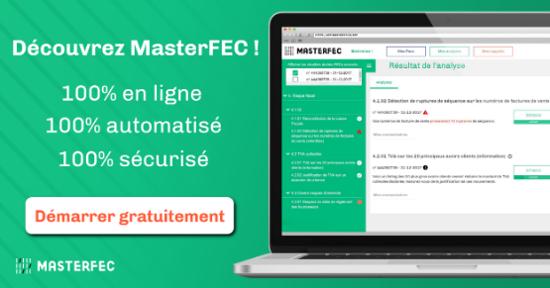 Démarrez gratuitement l'analyse de votre FEC avec MasterFEC