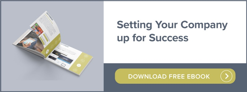 Setting your company up for success | Download free ebook