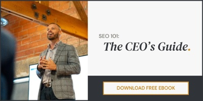 SEO 101: The CEO's Guide | Download Free eBook