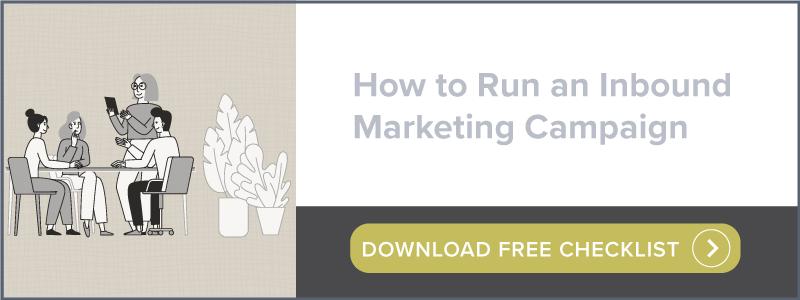 How to Run an Inbound Marketing Campaign | Download Free Checklist