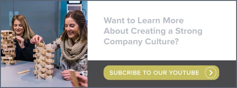 Want to learn more about creating a strong company culture? | Subscribe to our youtube