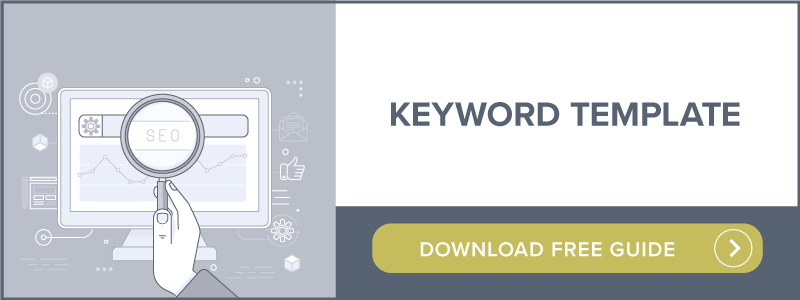 Keyword Template | Download free guide