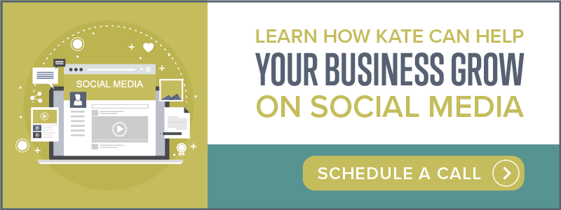 Learn how kate can help your business grow on social media | schedule a call