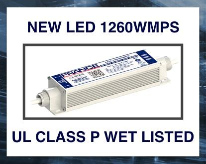 France LED 1260 WMPS Power Supply