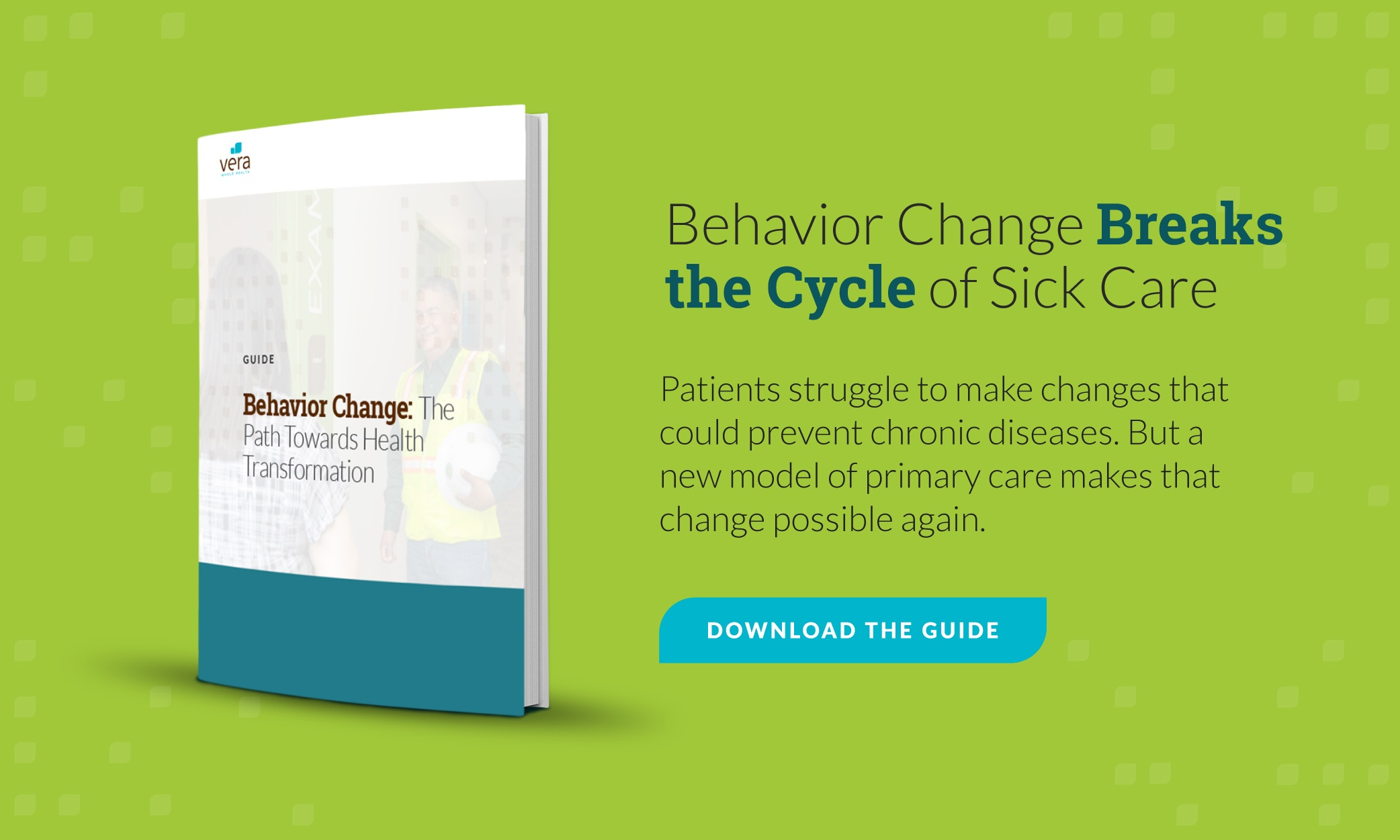 free guide call-to-action: behavior change: the path towards health transformation