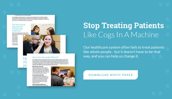 stop treating patients like cogs in a machine - download white paper