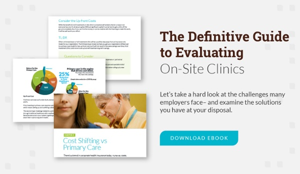 the definitive guide to evaluating on-site clinics - download eBook