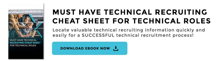 Technical Recruiting Cheat Sheets for Technical Roles