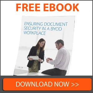 Ensuring Document Security in a BYOD Workplace