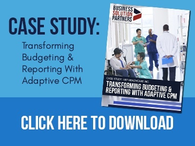 Click here to download our VEP Healthcare Case Study: Transforming Budgeting & Reporting with Adaptive CPM