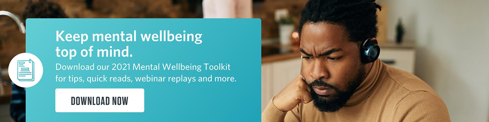 mental wellbeing toolkit virgin pulse