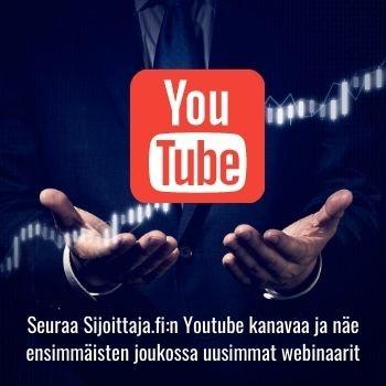Tilaa Sijoittaja.fi Youtube-kanava tästä
