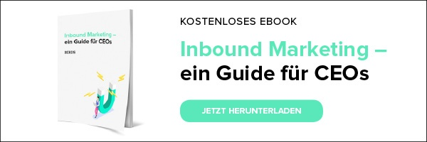 Inbound-Marketing – ein Guide für CEOs