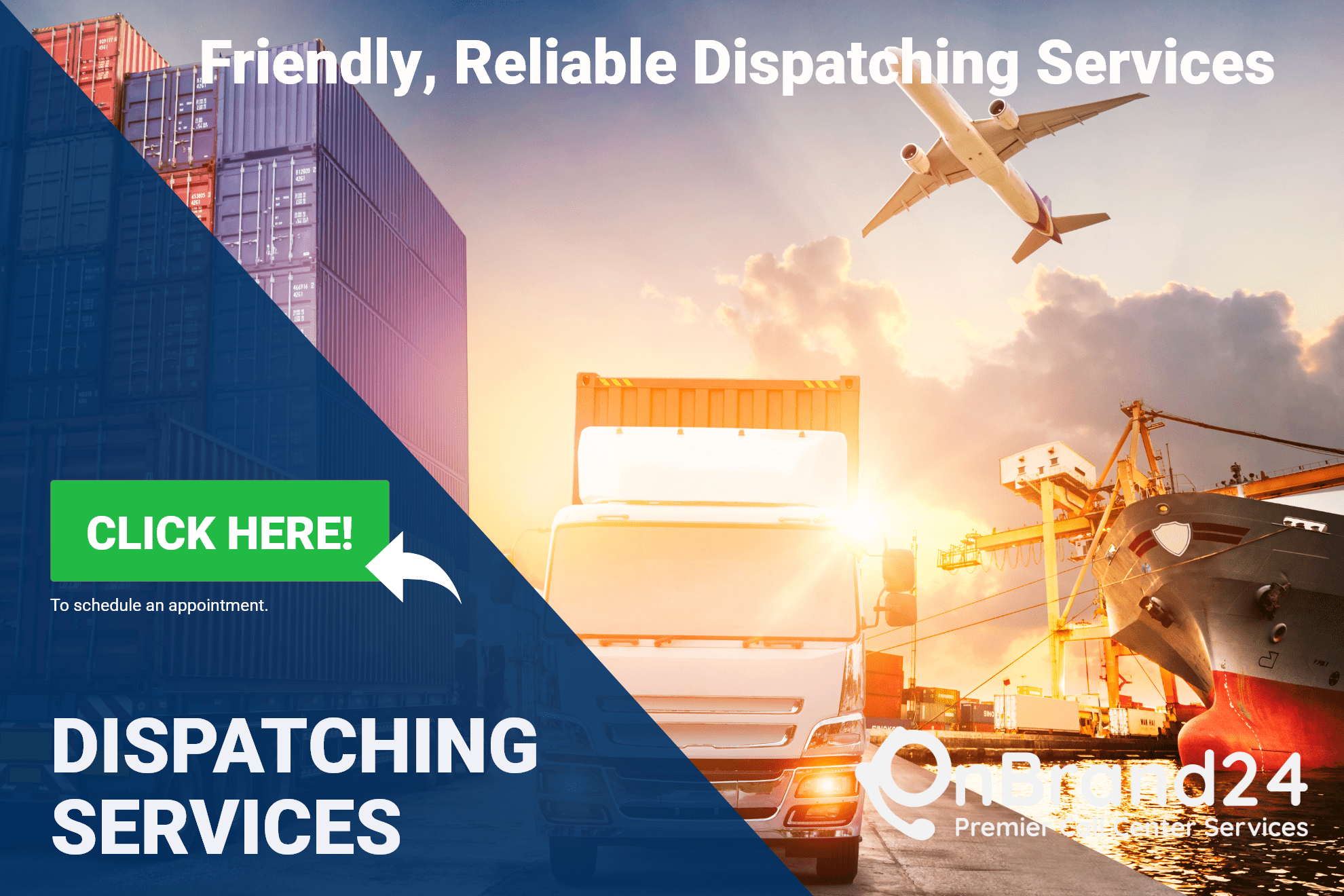 OnBrand24 Dispatch Services and Dispatch Customer Service