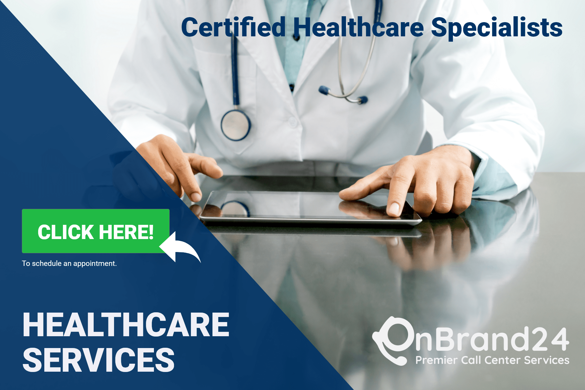 Healthcare Service with OnBrand24 Call Center Outsourcing