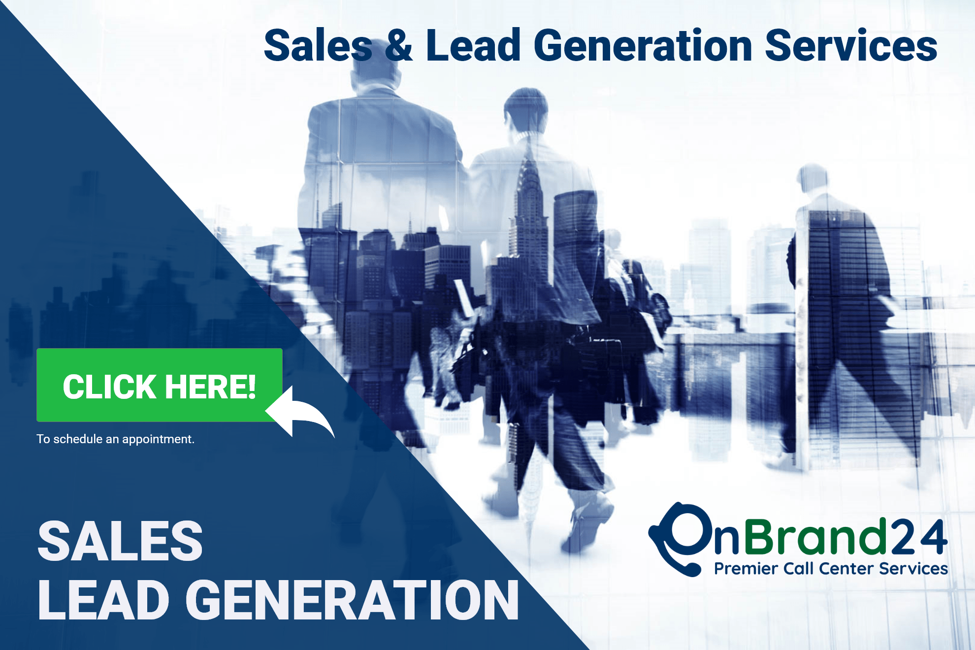 OnBrand24 Inside Sales Outsourcing and Lead Generation Call Center Service