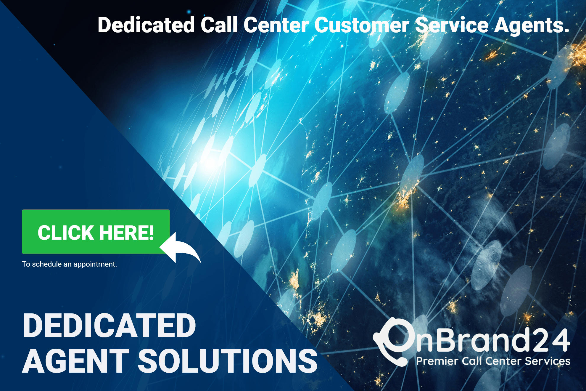 Dedicated Call Center Customer Service Agents with OnBrand24