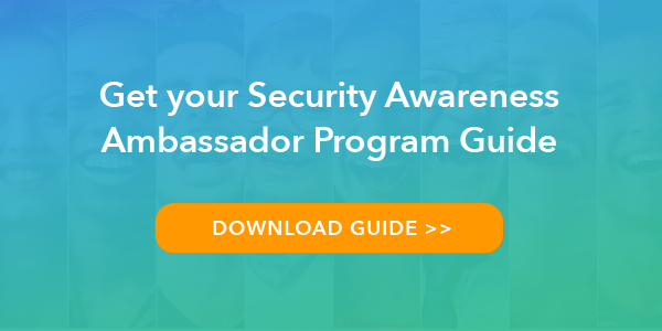 Get your Security Awareness Ambassador Guide