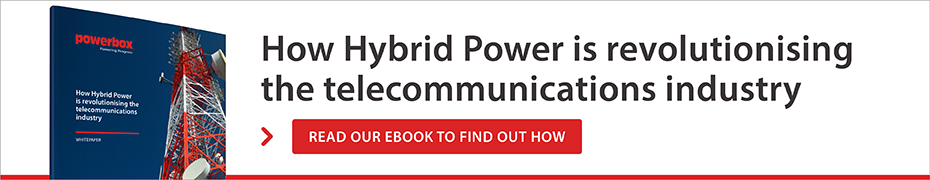 How Hybrid Power is revolutionising the Telecommunications industry