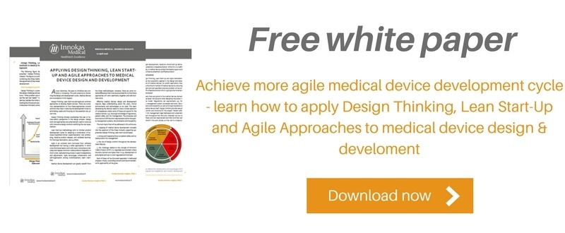 Design Thinking, Lean Start-Up and Agile Approaches in Medical Device Design and Development
