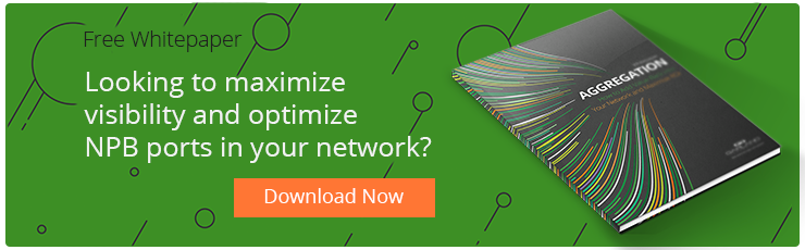 Network Aggregation maximizes network visibility and optimize network packet broker ports