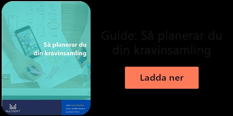 Guide: så planerar du din kravinsamling