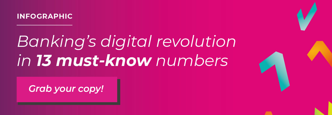 Infographic: Banking's digital revolution in 13 must-know numbers