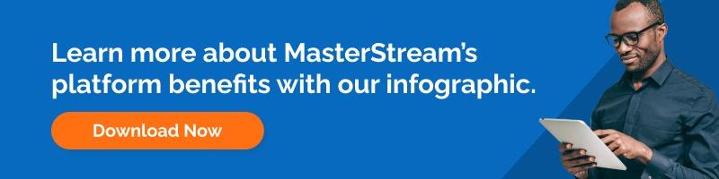 MasterStream Benefit Infographic