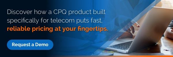 CPQ telecom demo