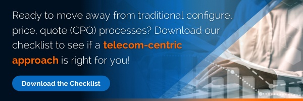 Telecom sales automation