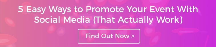 Find out how to promote your event with social media