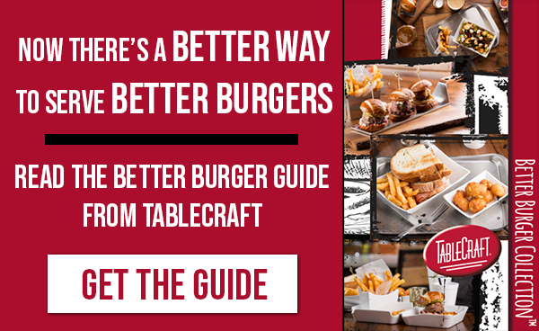 Better Burger Collection from TableCraft