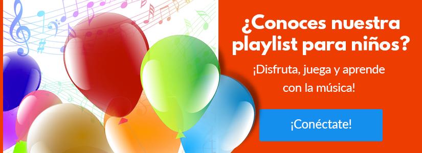 Playlist para niños y niñas