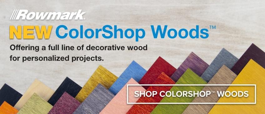 Rowmark ColorShop Woods