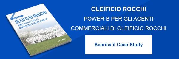 """CLICCA QUI per scaricare il Case Study: """"Oleificio Rocchi Power-B per gli agenti commerciali di Oleificio Rocchi"""""""""""